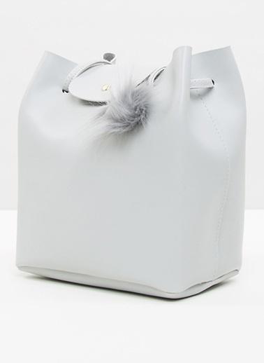 Bagmori Messenger / Askılı Çanta Gri